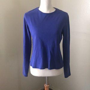 Blue New York & Company Long Sleeve Shirt